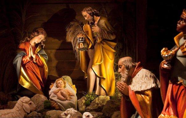 z13106171Q,Boze-Narodzenie---szopka-w-Katedrze-Wawelskiej