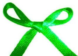 zielona wstężka