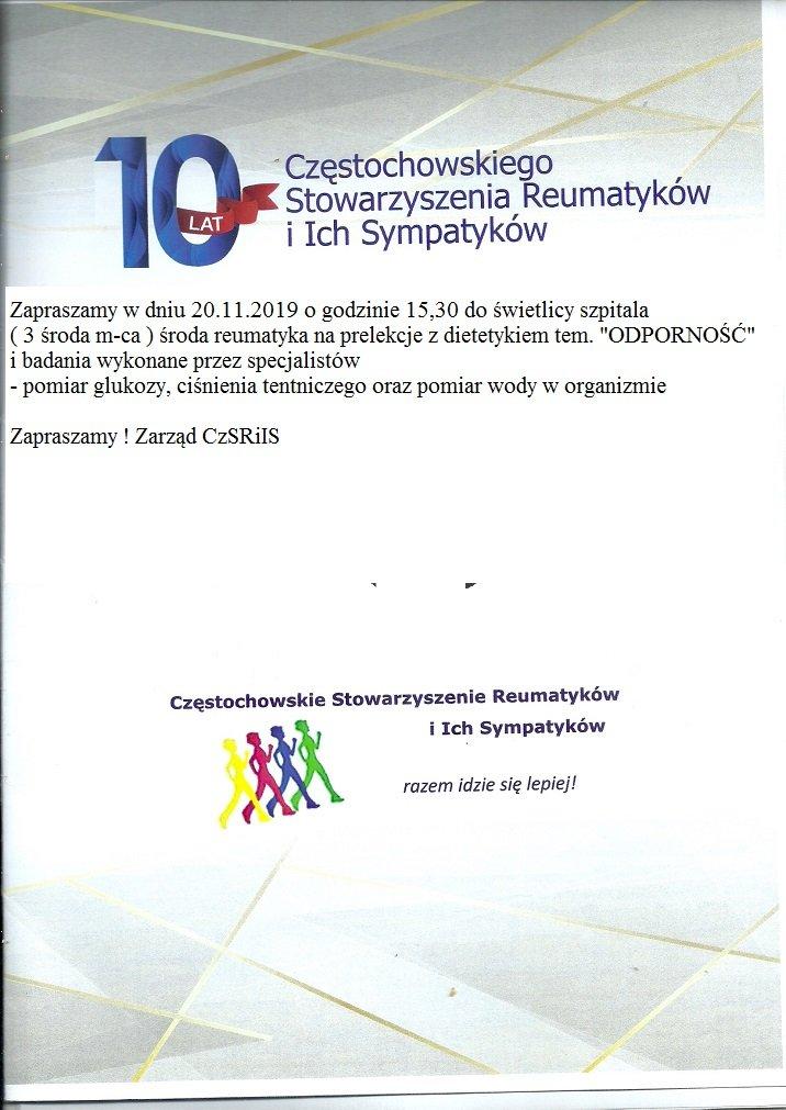 reumatycy 2019 3 środa m