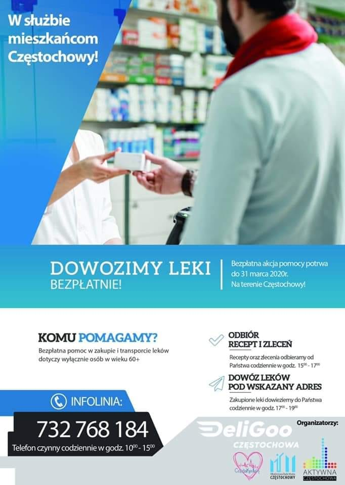 dowoz-lekow-plakat